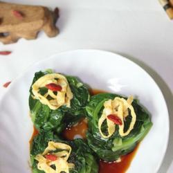 心心相印菠菜团的做法[图]