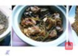 红烧粉条干排骨炖豆角5岁宝宝吃食谱什么图片