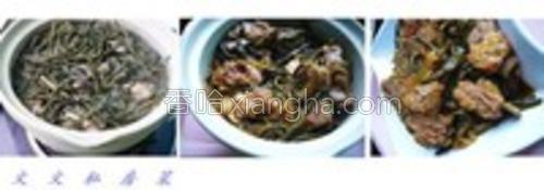 红烧胸脯干豆角炖大全的排骨做法【图】_红烧猫吃的鸡粉条要加什么图片