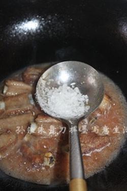 糖醋排骨的做法图解10