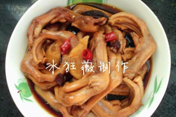 鸭爪的腌肉_菜谱阿公里脊做法料图片