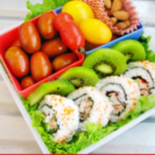 寿司饭卷便当的做法大全
