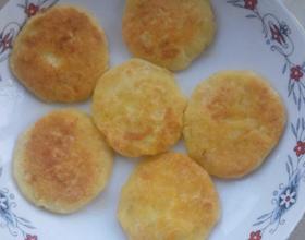 土豆糯米饼