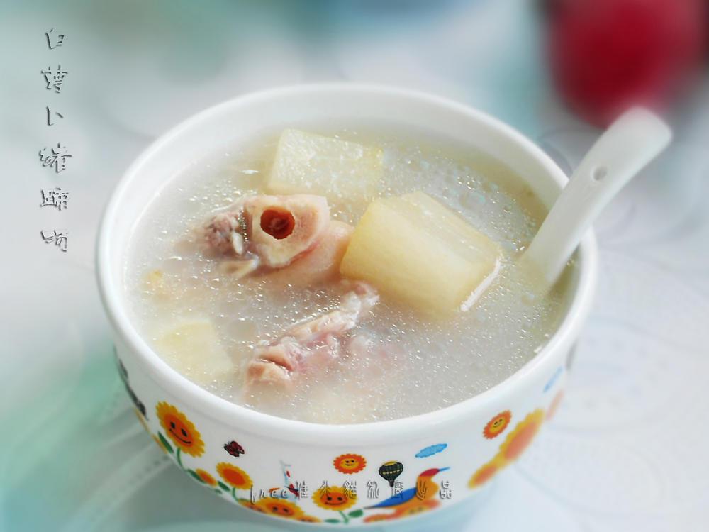 白萝卜猪蹄汤1688阿里巴巴调味品批发图片