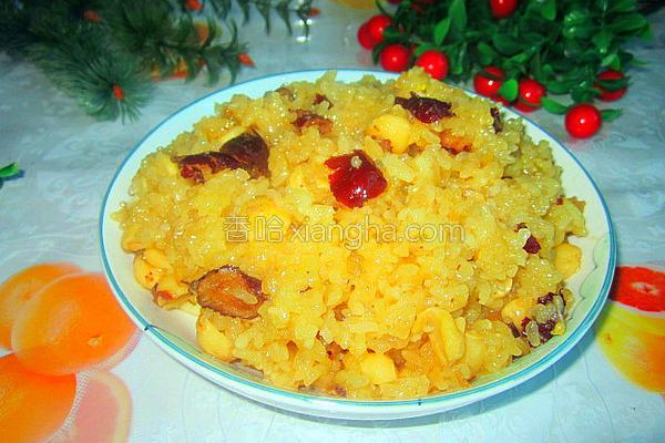 红枣莲子糯米饭的做法_红枣莲子糯米饭的做法