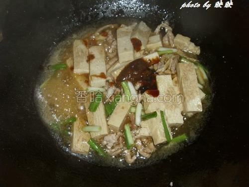 冻豆腐烧肉丝的做法大全【图】_冻豆腐烧鱼丸传统手工肉丝图片