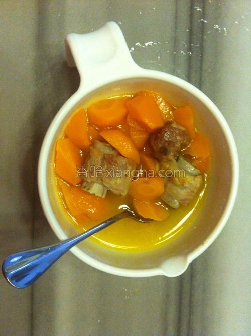 胡萝卜炖做法的大全蚕豆吃新鲜排骨会上火吗图片
