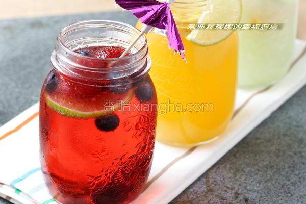 水果气泡饮的做法