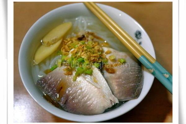 虱目鱼肚米粉汤的做法