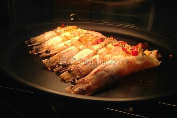 蒜辣虾的做法