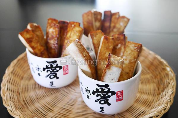 蒜味豆腐薯条的做法