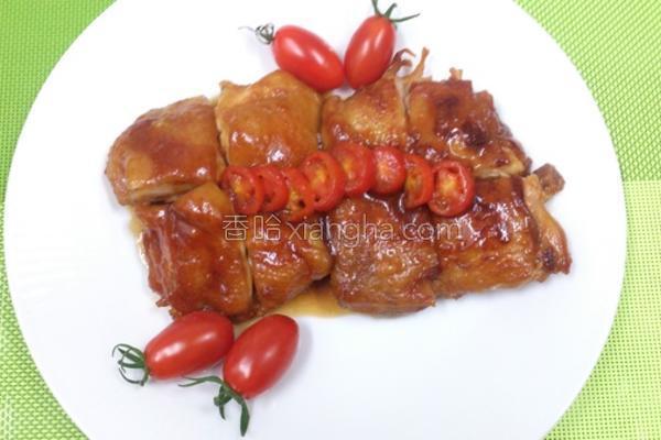 茄汁鸡块的做法