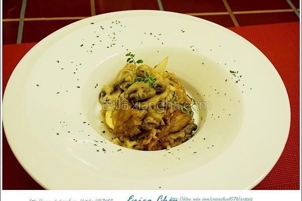 蘑菇炖饭的做法
