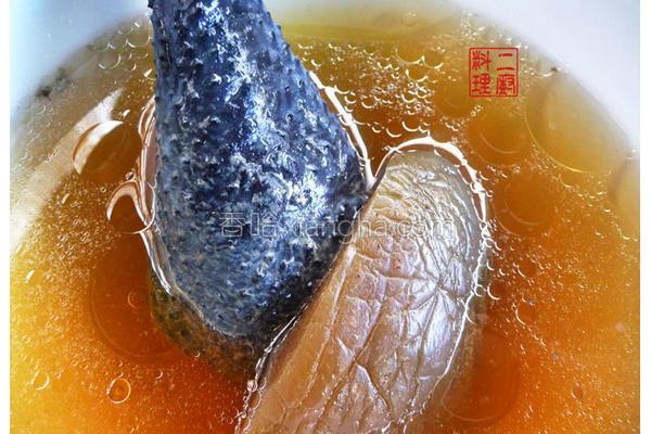 脆瓜乌骨鸡汤的做法