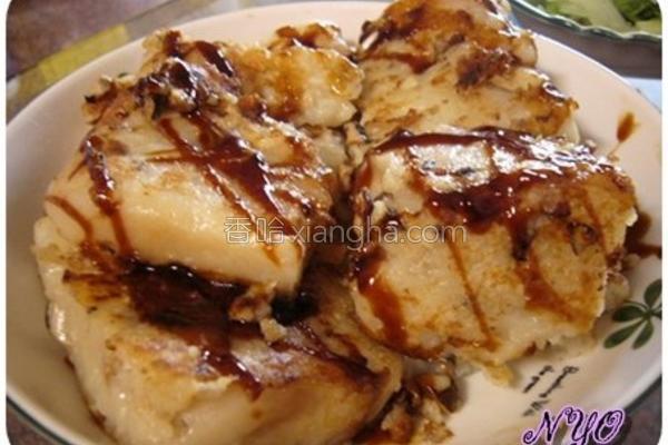 香菇菜头粿的做法