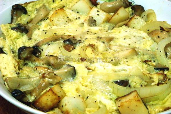 马铃薯烘蛋的做法
