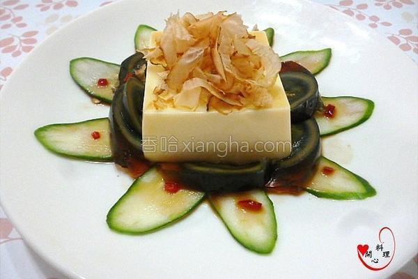 芙蓉皮蛋豆腐的做法