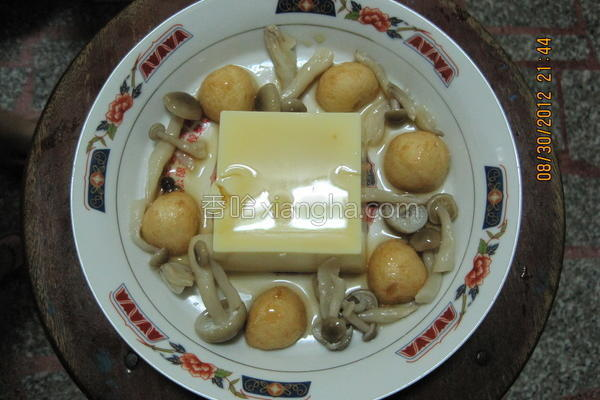 豆腐&鱼蛋的做法