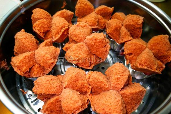 黑糖红麹发糕的做法