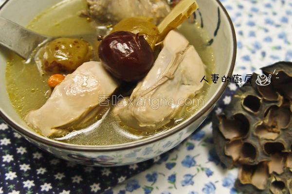 紫苏梅鸡汤的做法