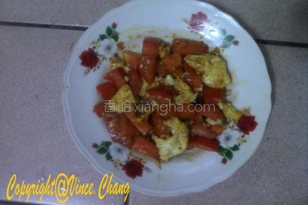 牛番茄炒蛋的做法