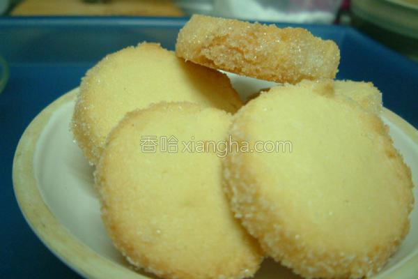 砂糖小甜饼的做法
