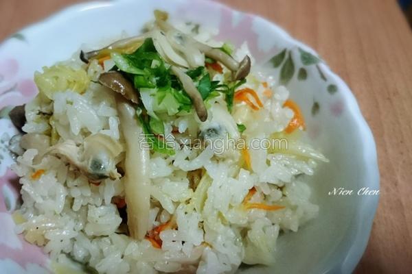 蛤蜊杂炊饭的做法