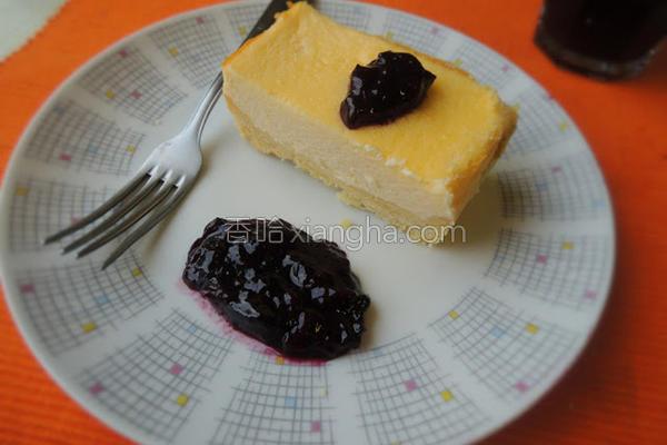 蓝莓酱乳酪蛋糕的做法