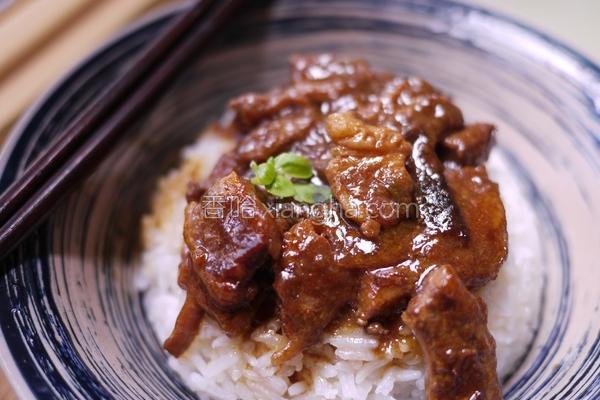 浓缩姜汁控肉饭的做法
