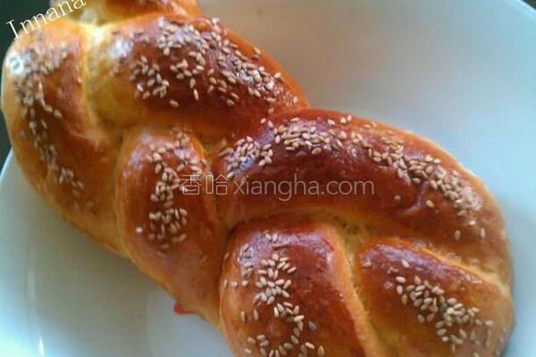 辫子面包的做法