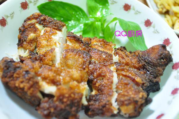 韩式酱料炸鸡排的做法