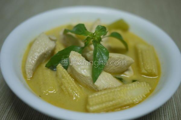 泰式咖哩鸡的做法