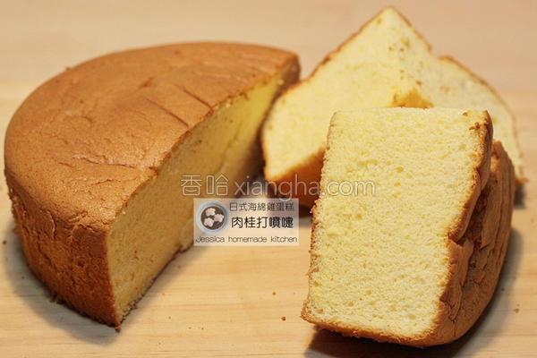 日式海绵鸡蛋糕的做法