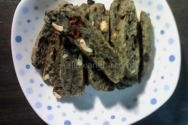 黑芝麻养身脆饼的做法