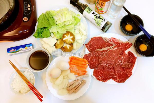 日式寿喜烧的做法