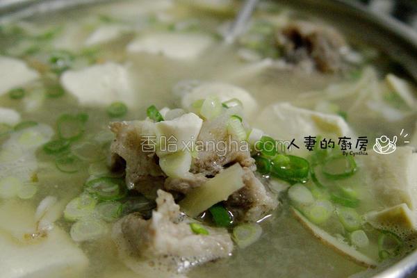 味噌鱼头汤的做法