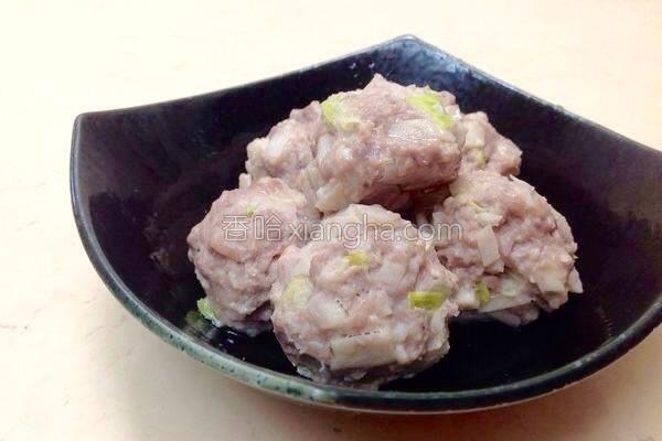 芋头海鲜丸的做法