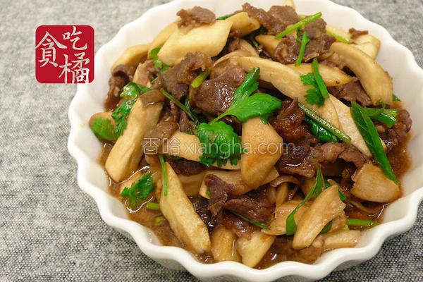 牛肉炒杏鲍菇的做法
