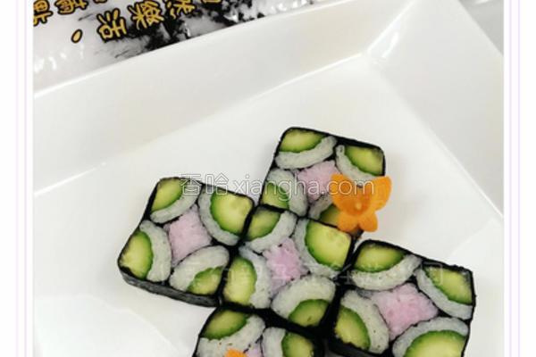 蝴蝶舞寿司的做法
