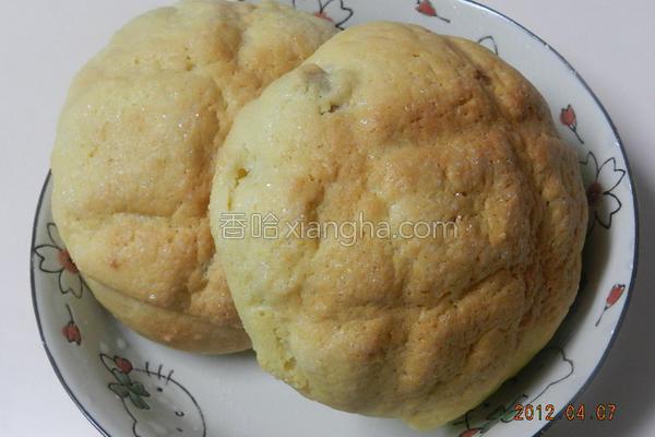 蔓越梅波萝面包的做法