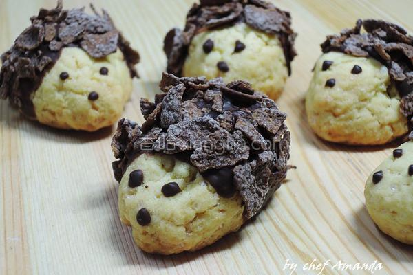 刺猬饼干的做法