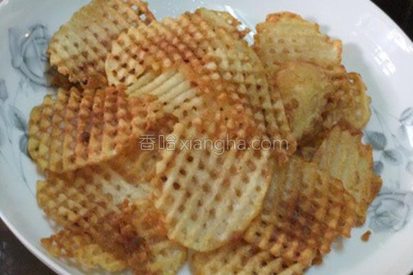 波浪马铃薯片的做法