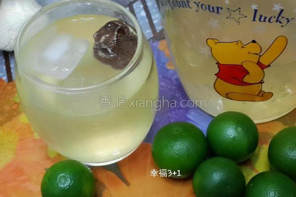 金桔柠檬冰饮的做法