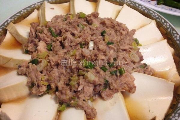 鱼香蒸豆腐的做法
