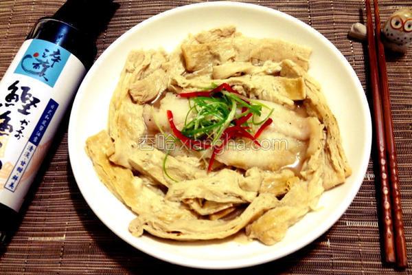 蒸豆包鳕鱼的做法