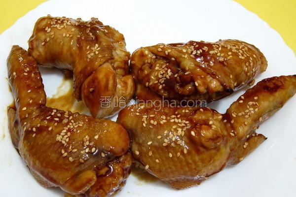 香米鸡翅的做法