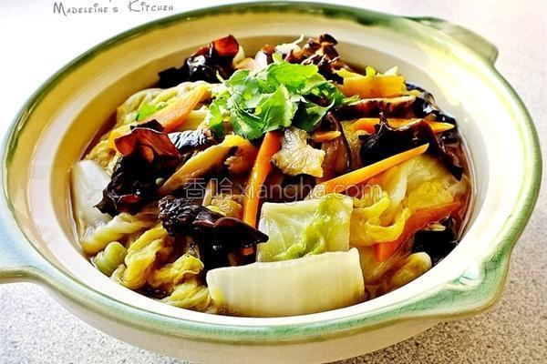 扁鱼白菜卤的做法