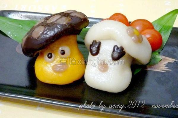 起司菇菇Q粿的做法