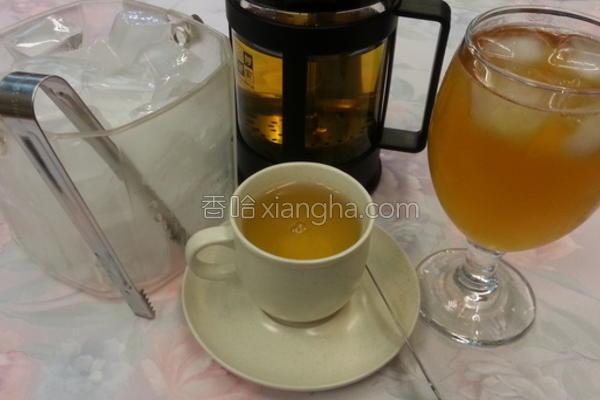 天然风味乌龙茶的做法