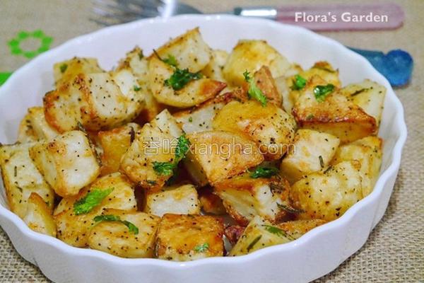 香酥烤马铃薯的做法
